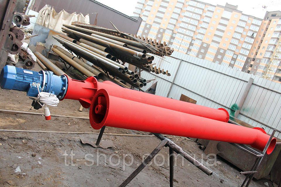 Шнековый питатель для цемента ø 159 мм, 5 м.
