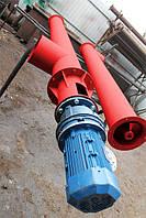 Шнековый питатель для цемента ø 159 мм, 4 м.