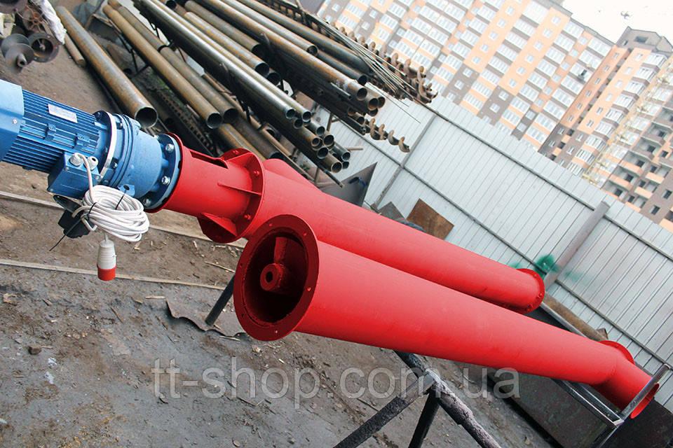 Шнековый питатель для цемента ø 220 мм, 12 м.