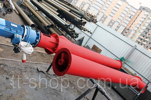 Шнековый питатель для цемента ø 270 мм, 7 м., фото 2