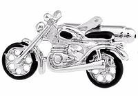 Запонки Мотоцикл для байкеров и мотоциклистов, спортсменов, любящих скорость и независимость, фото 1