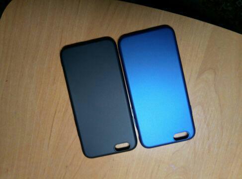 Чохол на iPhone 6, 6s. Тонкий матовый пластик.