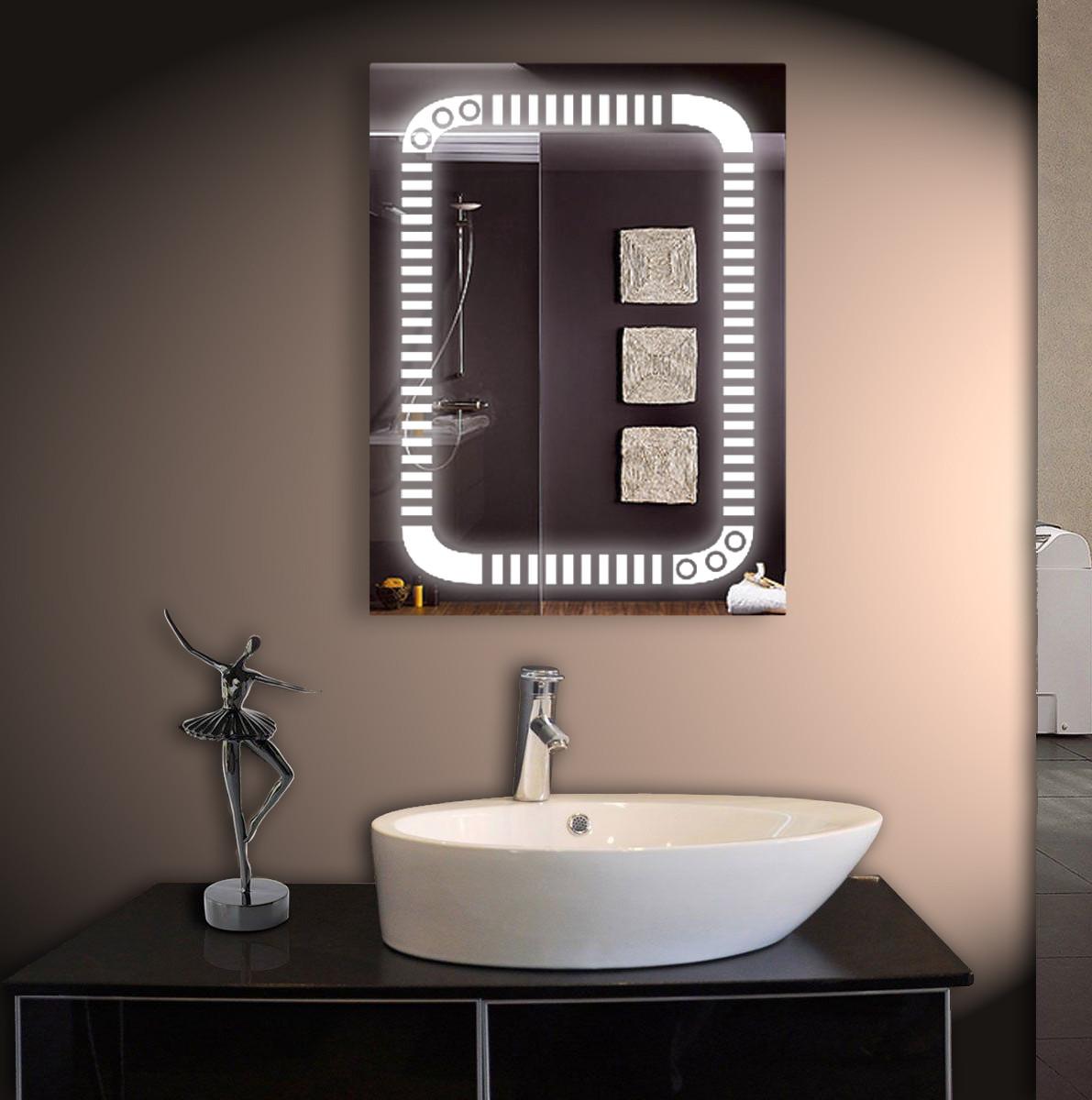 Зеркало для ванной LED ver-3022 600х800