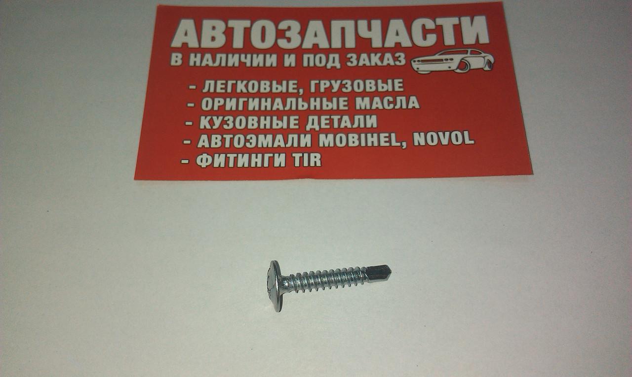Саморез оцинкованный L=25 мм со сверлом