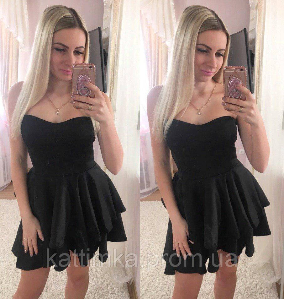 8c34bfadaeb Женское красивое платье с пышной юбкой