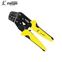 Кримпер клещи для обжима опрессовки наконечников клемм 0.25 - 2,5 мм PARON JX-1601-01, фото 1