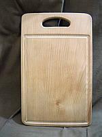 Доска разделочная деревянная №13 средняя малая, фото 1