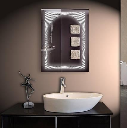 Зеркало для ванной LED ver-3024 600х800, фото 2