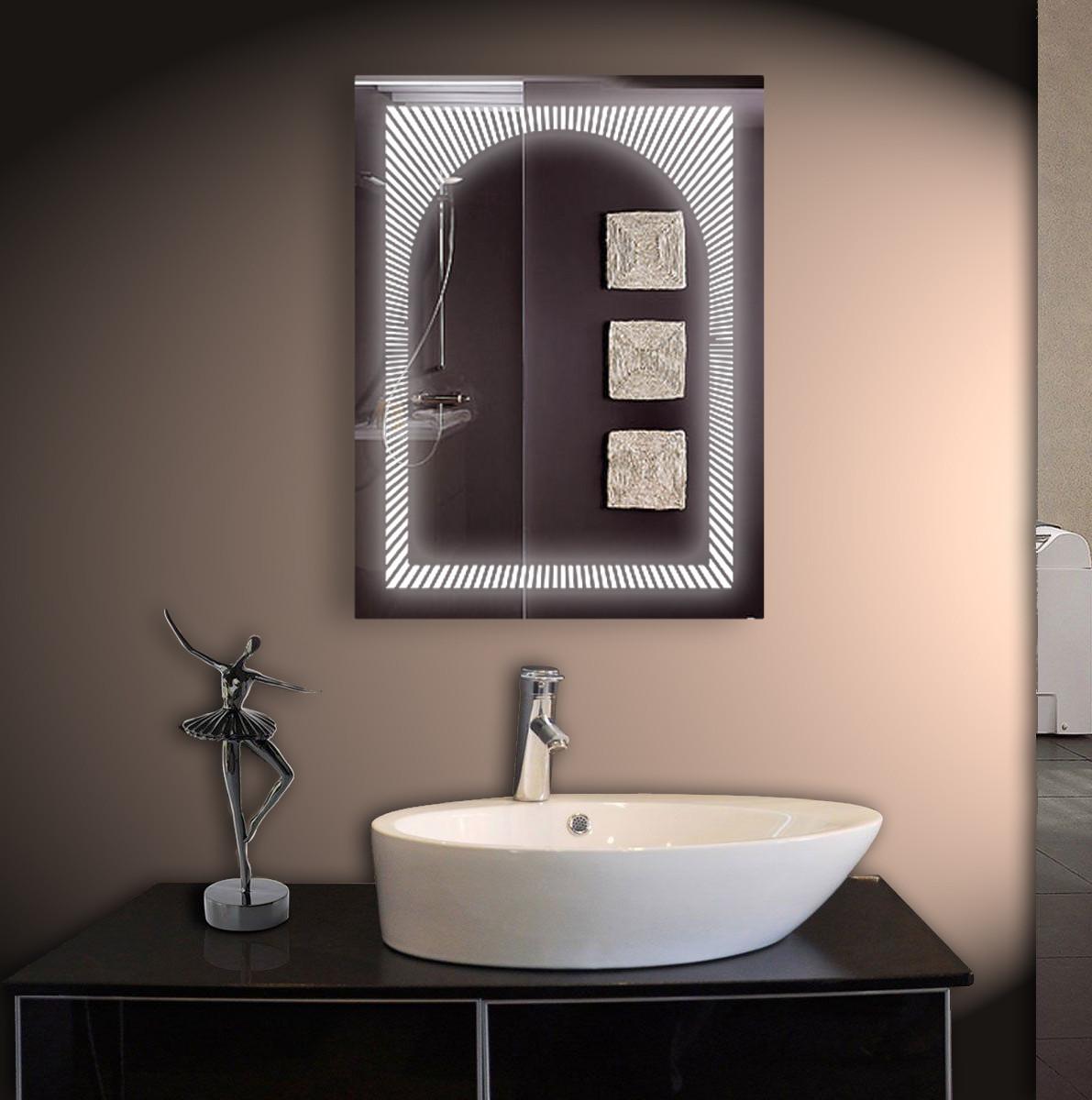 Зеркало для ванной LED ver-3024 600х800