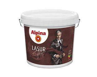 """Лазурь """"облачная"""" ALPINA EFFEKT LAZUR, бесцветная, матовая, 2,5л"""