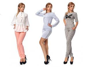 Жіночі костюми-двійки, комбінезони