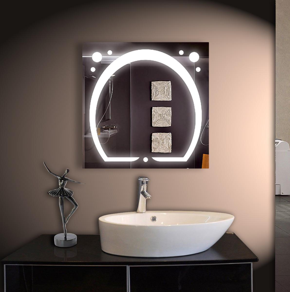 Зеркало для ванной LED ver-3038 800х800