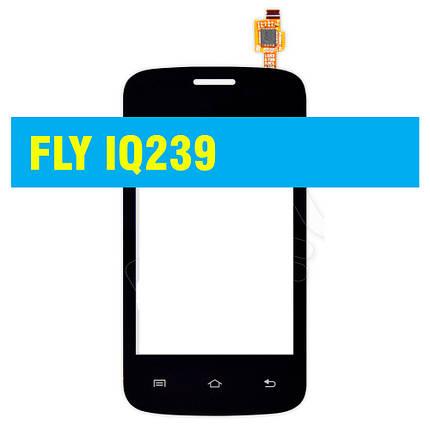 Сенсорний екран Fly IQ239 BLACK, фото 2