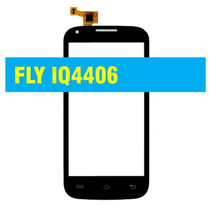 Cенсорный экран Fly IQ4406 BLACK, фото 2