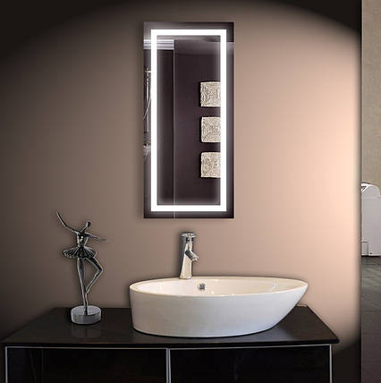 Зеркало LED ver-3060 500х1100, фото 2