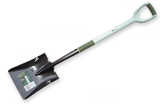 Лопата совковая ERGONOMIC CARBON STEEL
