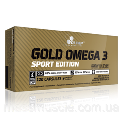 Рыбий жир OLIMP Gold Omega-3 SPORT 120 caps