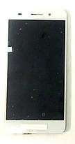 Модуль (сенсор + дисплей) для Huawei Y6 II (CAM-L21), Honor 5A (CAM-AL00) білий, фото 3