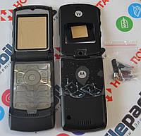 Корпус для телефона Motorola RAZR V3 в сборе (Качество ААА) (Черный)  Распродажа 23ed5d0192be3