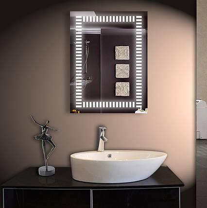 Зеркало для ванной LED ver-3016 600х800 мм, фото 2