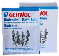 GEHWOL  Соль для ванны с маслом розмарина, 250г, 10 пакетиков