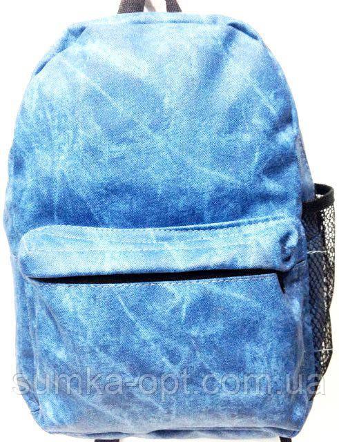 Джинсовые рюкзаки опт (синий)23*32