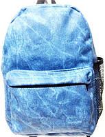 Джинсовые рюкзаки опт (синий)23*32, фото 1
