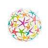 Надувной мяч Intex 59050 для игры на воде, 61 см