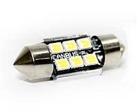 Автолампа LED BTLE1285, C5W, SMD2835, CANBUS, 31 мм, фото 1