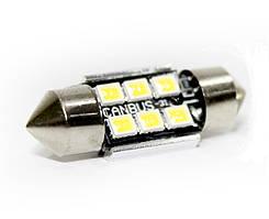 Автолампи LED BTLE1285, C5W, SMD2835, CANBUS, 31 мм