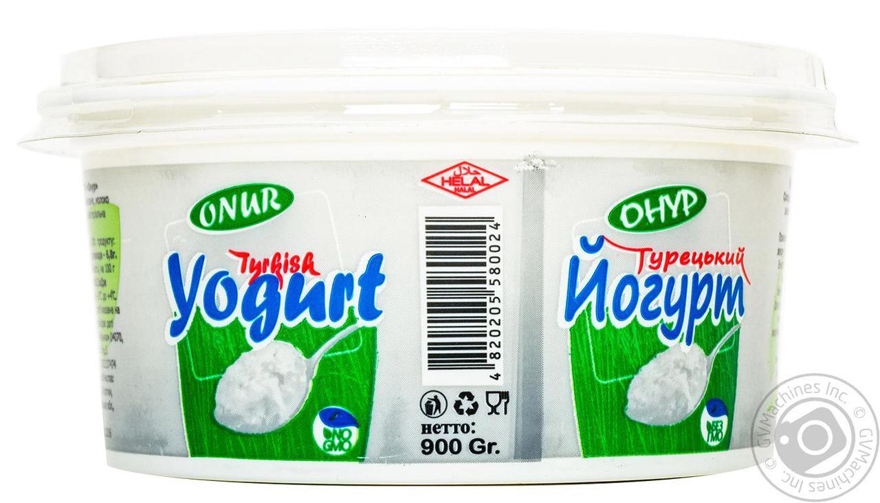 """Йогурт """"Турецкий"""" 900 г ТМ ONUR  (Turkish Yogurt), фото 1"""