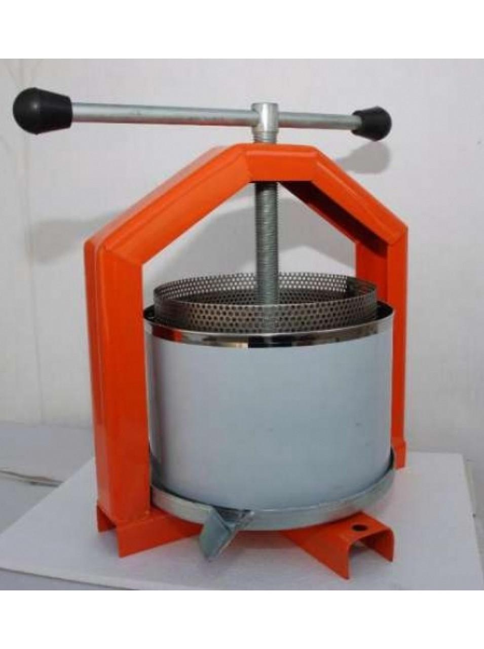 Пресс для отжима сока 10 л нержавейка ручной(Полтава)