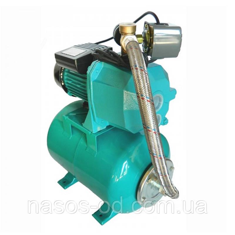 Насосная станция гидрофор Euroaqua DP355 для воды 0.75кВт Hmax38м Qmax42л/мин (внешний эжектор) 24л