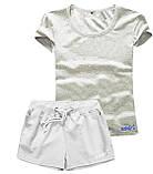 Женские шорты и футболка, комплект. Размеры 40-56.Мод. М-28.., фото 3