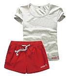 Женские шорты и футболка, комплект. Размеры 40-56.Мод. М-28.., фото 2