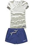 Женские шорты и футболка, комплект. Размеры 40-56.Мод. М-28.., фото 5