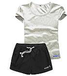 Женские шорты и футболка, комплект. Размеры 40-56.Мод. М-28.., фото 6
