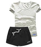 Женские шорты и футболка, комплект. Размеры 40-56.Мод. М-28.., фото 1
