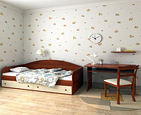 Кровать подростковая Жан 70х140