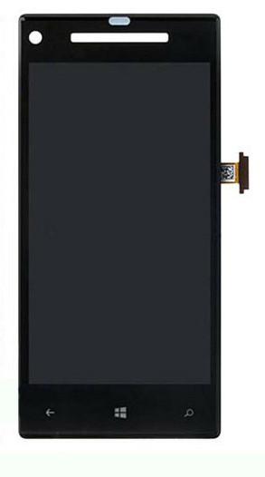 Дисплей HTC C620e Windows Phone 8X with touchscreen black