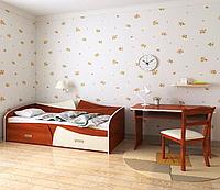 Кровать подростковаяРадуга 80х190