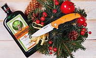 Нож складной Шива, с качественной стали и плавным ходом клинка