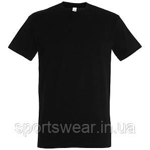 Футболка чёрная  хлопок  размер  М
