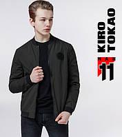 11 Киро Токао | Ветровка весенне-осенняя мужская 2070 зеленая