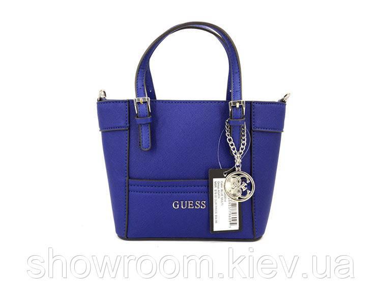 Женская синяя сумка Guess (814)