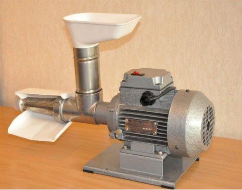 Пресс для отжима сока ТШМ-2 универсальный электрический(Полтава)