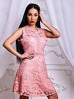9b7c5e09d3a Розовое гипюровое платье в Украине. Сравнить цены