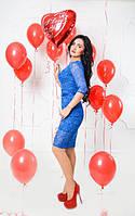 Молодежное нарядное платье, фото 1