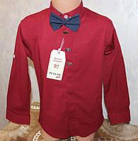 Стильная рубашка на мальчика с бабочкой 9 a78868663db