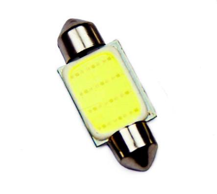 Автолампа LED C5W, COB, 39 мм